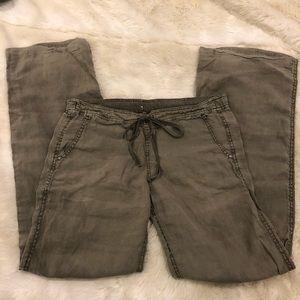 Michael Stars casual linen pants